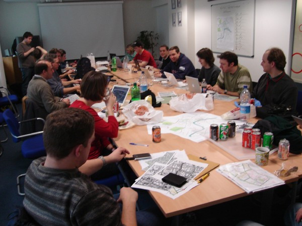 Mapping Party en Londres